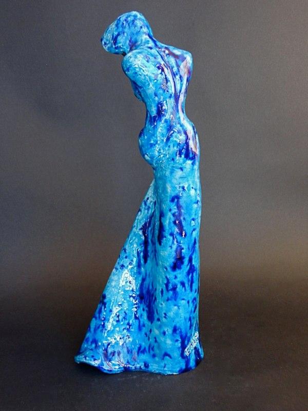 18. Blue twist (Verkocht)