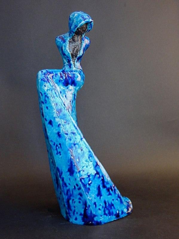 17. Blue twist (Verkocht)
